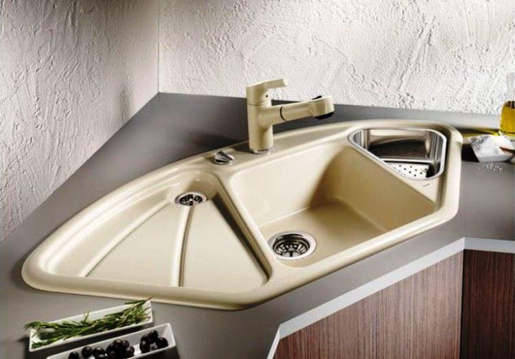 угловая мойка для кухни фото 2
