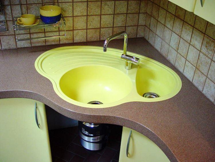 угловая мойка для кухни фото 6