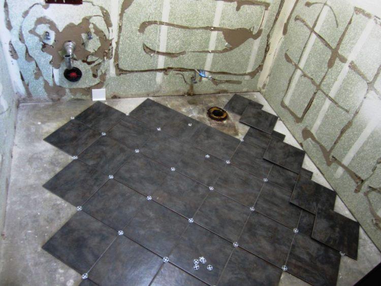 укладка плитки в ванной фото 10