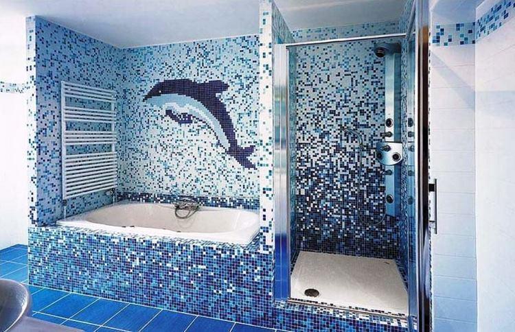 укладка плитки в ванной фото 3