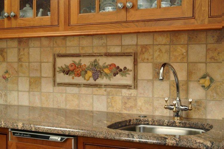 Декор стен на кухне своими руками фото