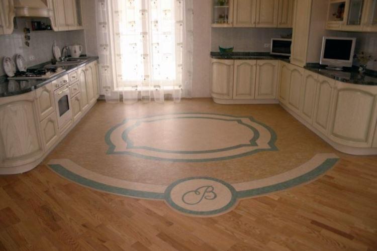 линолеум для кухни фото 2