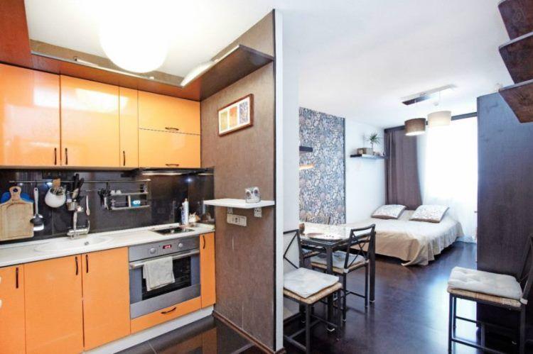 Планировка квартиры-студии фото 7