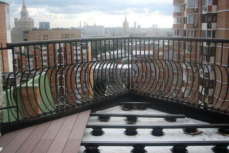 пол на балконе своими руками фото