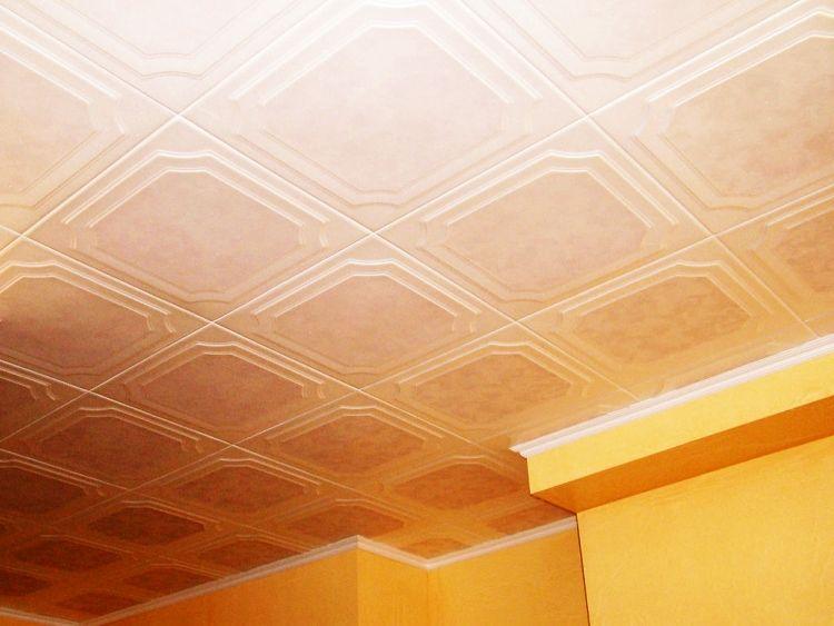 потолочная плитка из пенополистирола фото 3