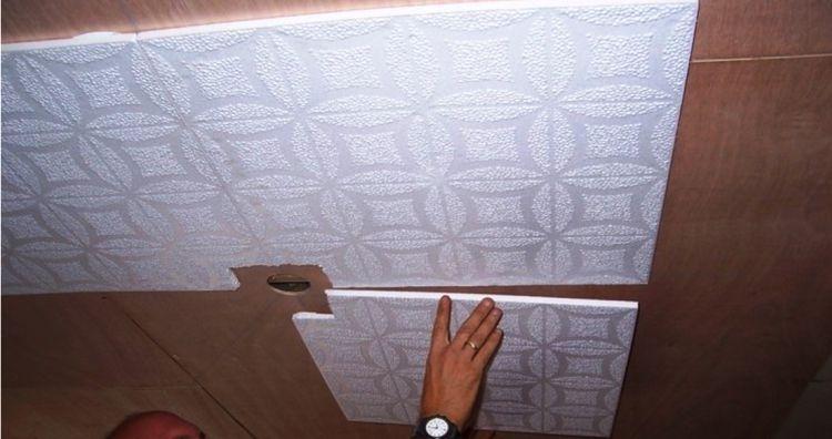 потолочная плитка из пенополистирола фото 7