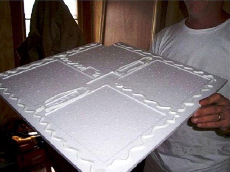 потолочная плитка из пенополистирола фото 8