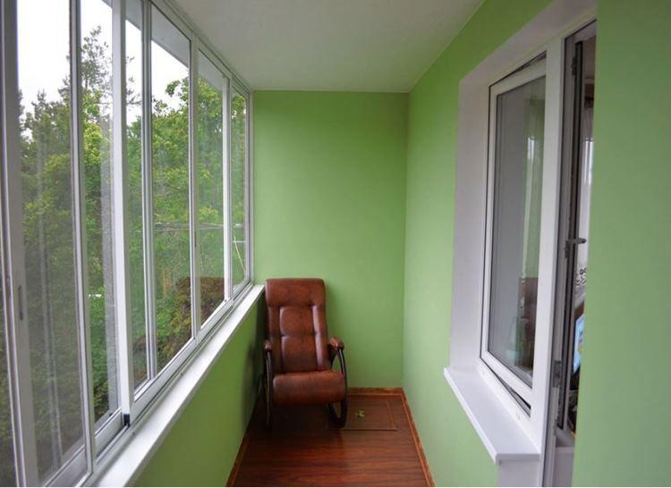 кабинет на балконе фото 11