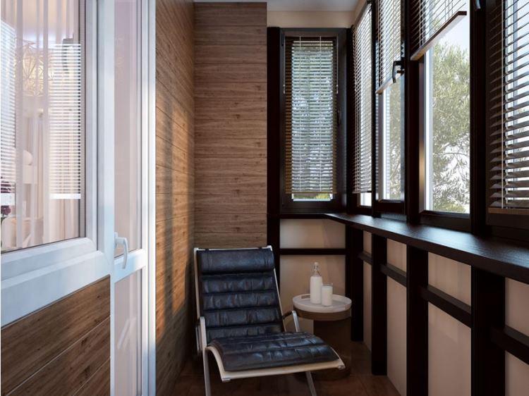 кабинет на балконе фото 16