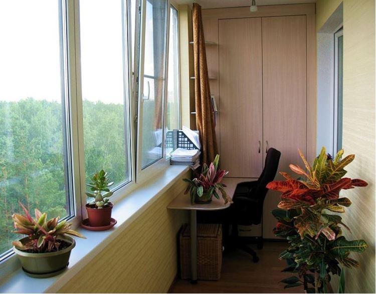Отделка балконов и утепление лоджии - все о ремонте, статьи .