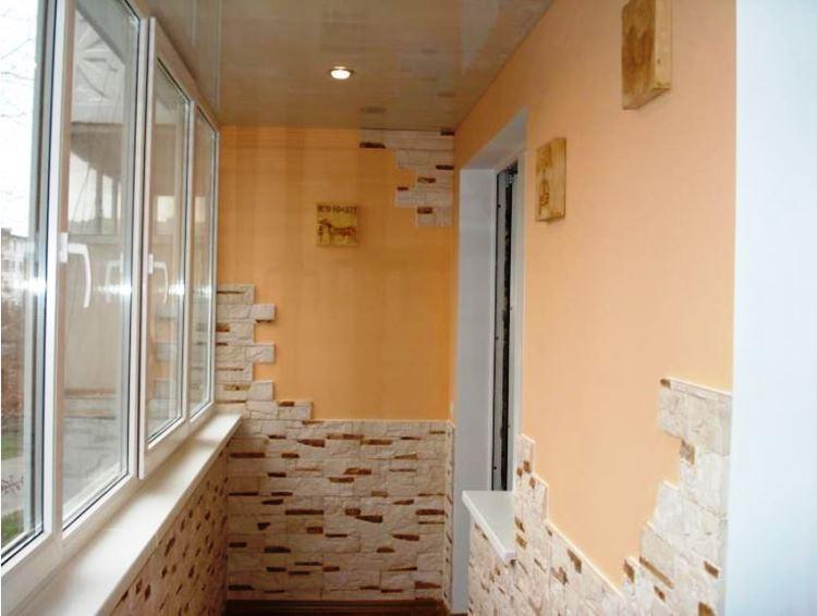 кабинет на балконе фото 9
