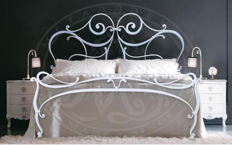 кованые кровати фото 17