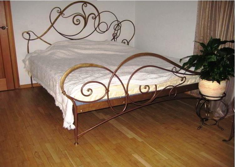 кованые кровати фото 3