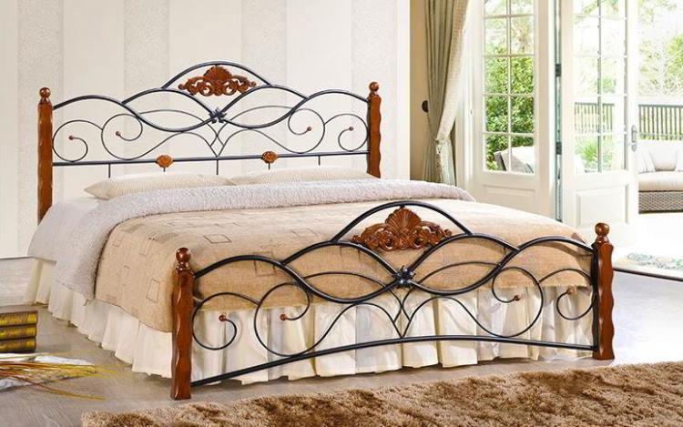 кованые кровати фото 5