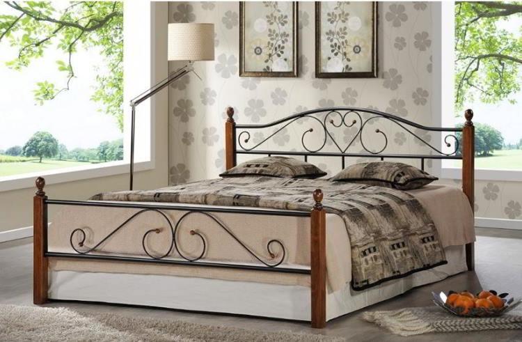 кованые кровати фото 7