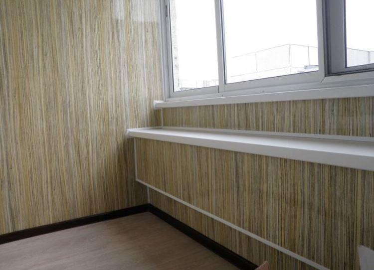 ламинат на стене в интерьере фото 18