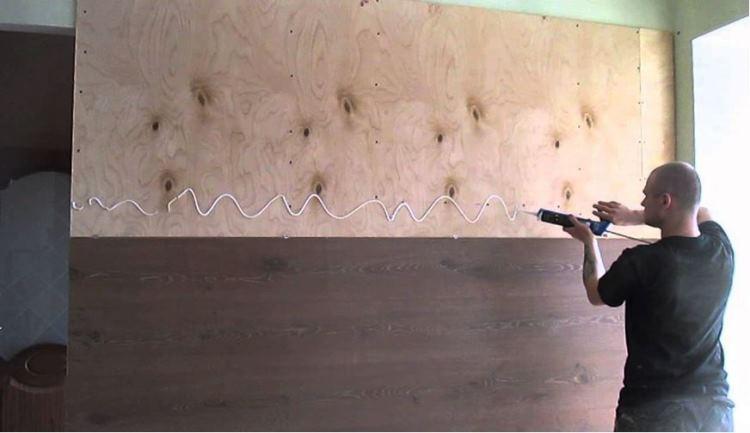 ламинат на стену фото 7