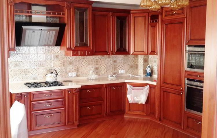 красная кухня фото 13