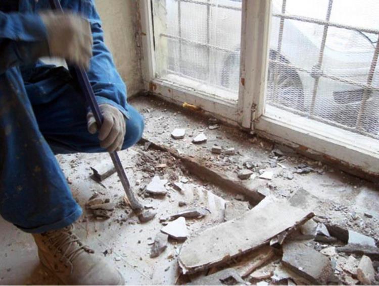 установка пластикового окна фото 4