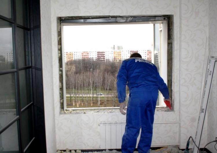 Установка пластикового окна своими руками: пошаговая инструк.