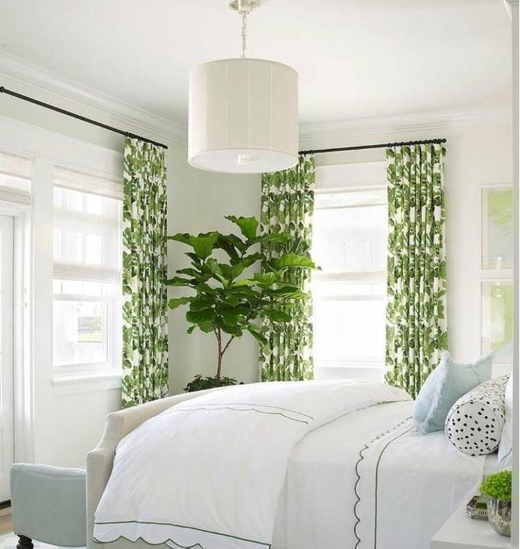 зеленый интерьер фото 11