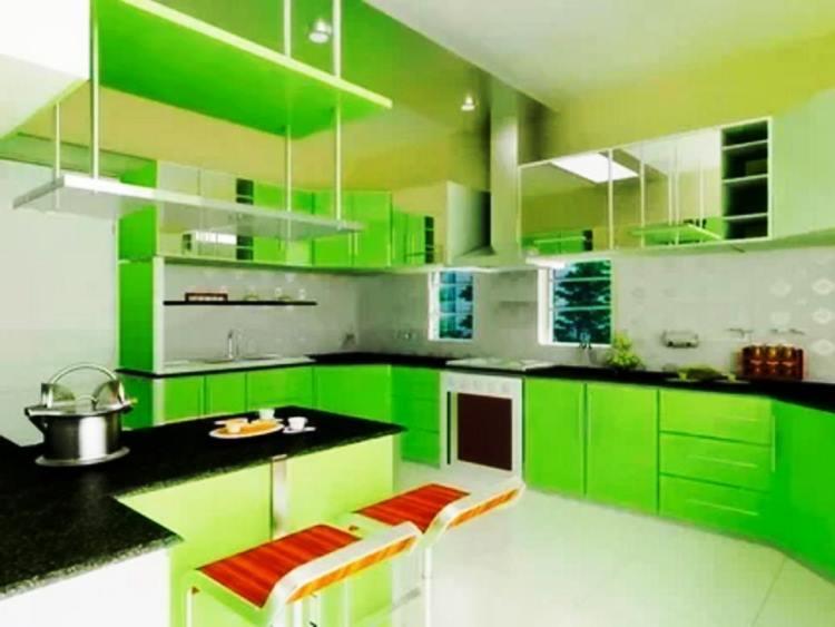 зеленый интерьер фото 4