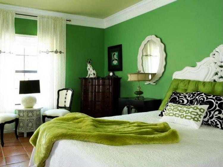зеленый интерьер фото 7